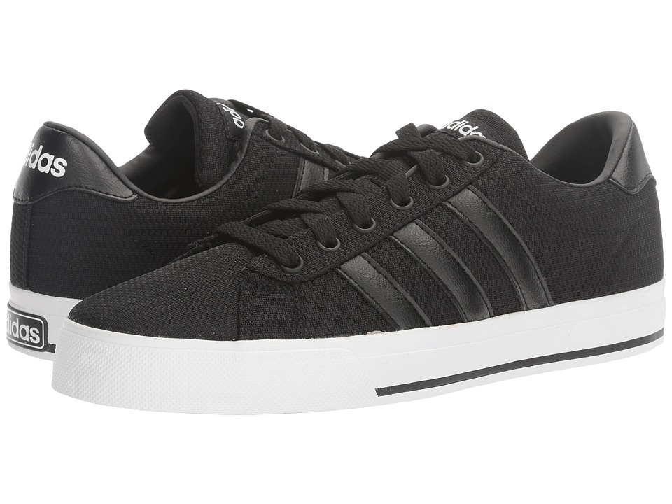 adidas - SE Daily Vulc (Black/White) Men's Skate Shoes