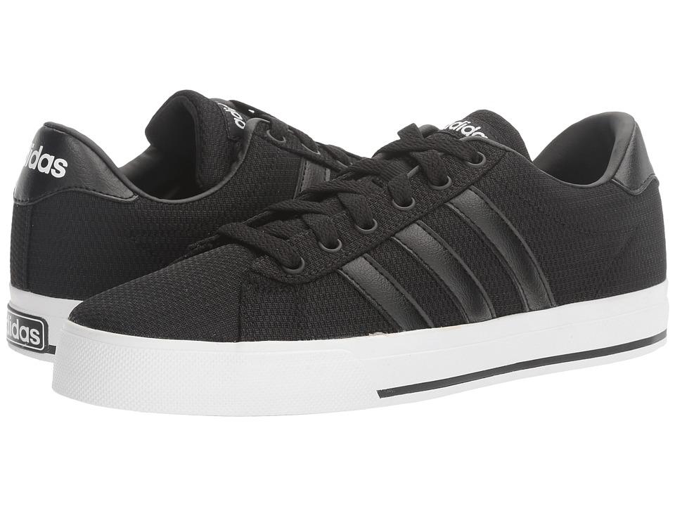 adidas - SE Daily Vulc (Black/White) Men's Skate Shoes