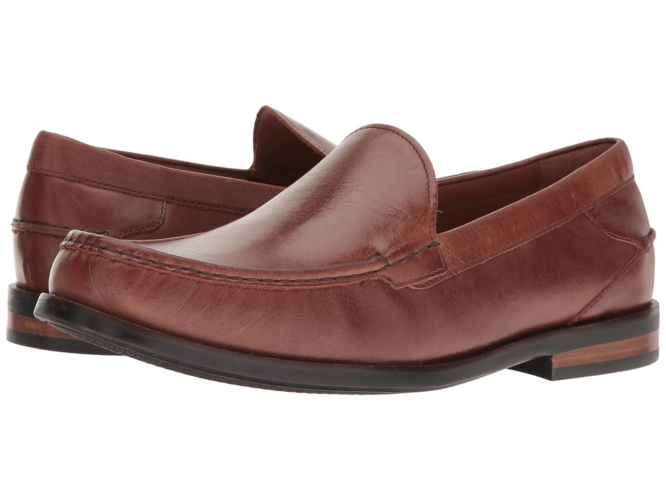 Cole Haan - Pinch Buchanan Venetian II (Papaya/Mink) Men's Shoes