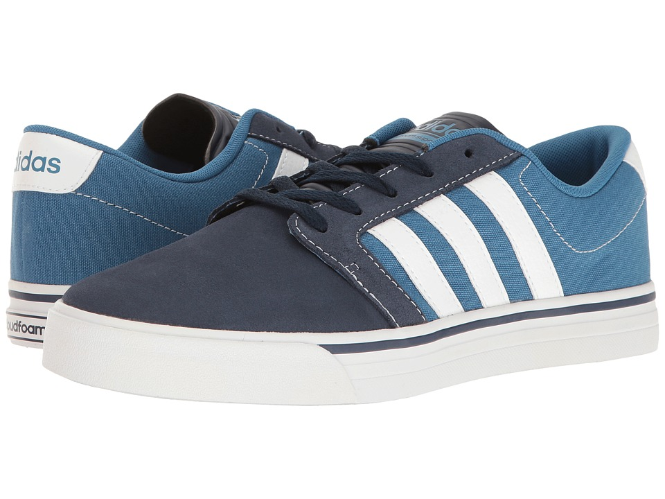adidas Cloudfoam Super Skate (Navy/Footwear White/Blue) Men