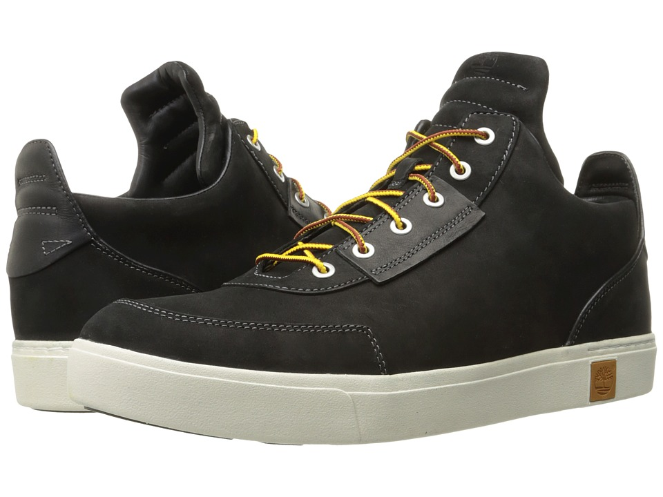 Timberland Amherst High Top Chukka (Black Nubuck) Men