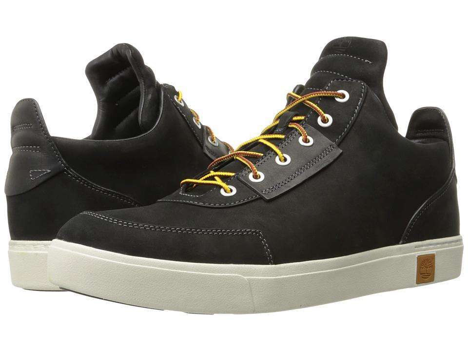 Timberland - Amherst High Top Chukka (Black Nubuck) Men's Shoes