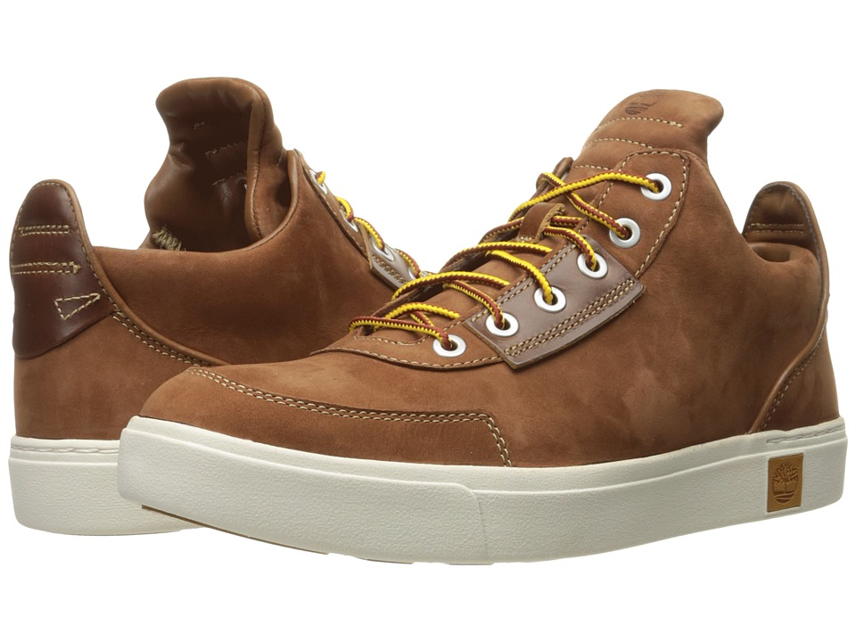 Timberland - Amherst High Top Chukka (Medium Brown Nubuck) Men's Shoes