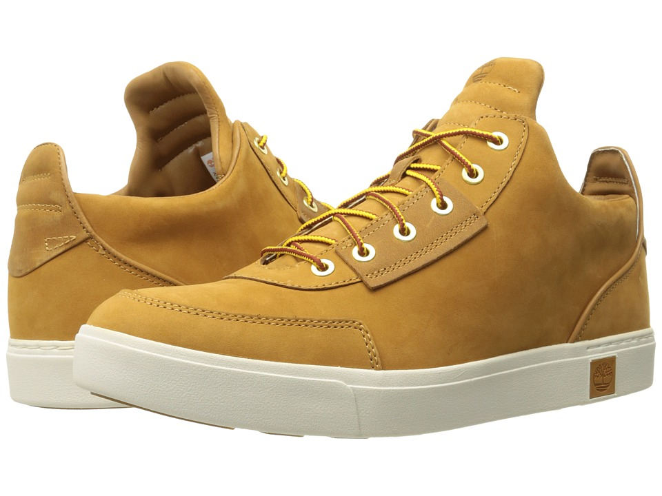 Timberland - Amherst High Top Chukka (Wheat Nubuck) Men's Shoes