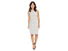 Calvin Klein Textured Sheath Dress w/ Zip at Shoulder