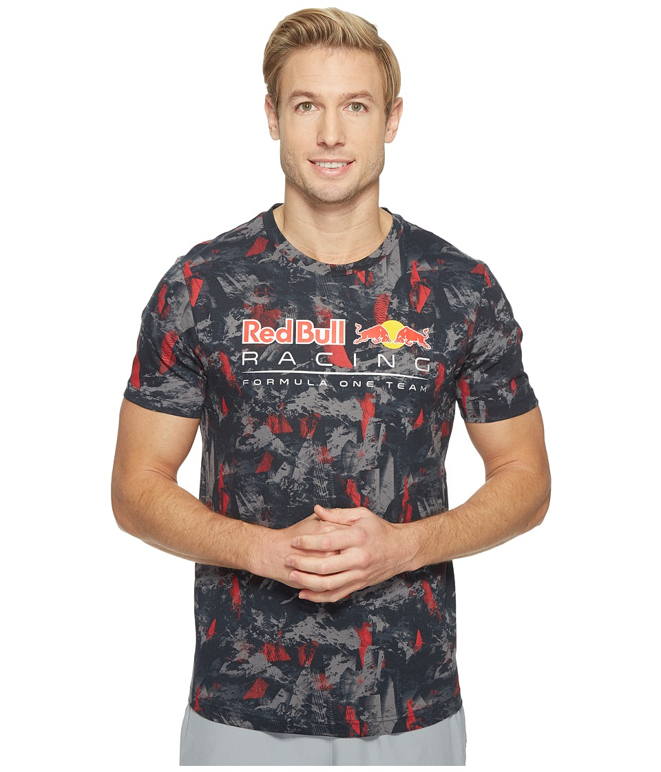 PUMA - RBR All Over Tee (Total Eclipse) Men's T Shirt