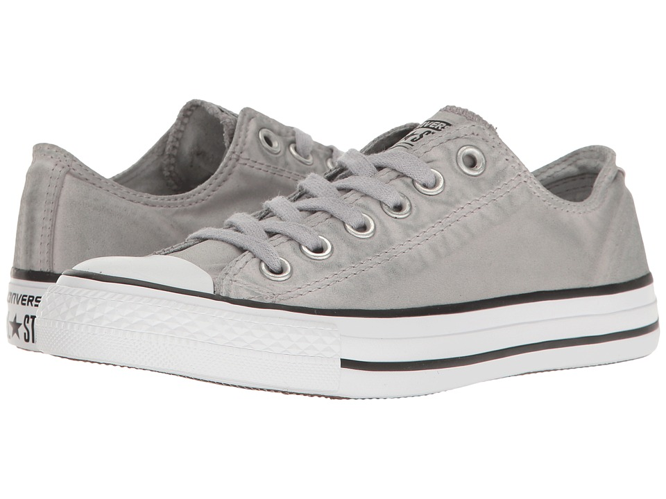 Converse - Chuck Taylor(r) All Star(r) Kent Wash Ox (Dolphin/Black/White) Women's Classic Shoes