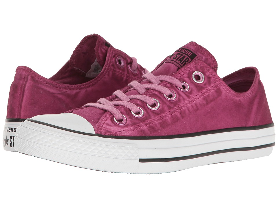 Converse - Chuck Taylor(r) All Star(r) Kent Wash Ox (Magenta Glow/Black/White) Women's Classic Shoes