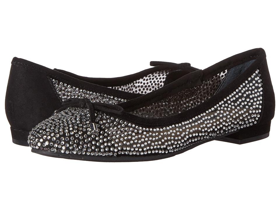 Nina - Wynne (True Black/Black) Women's Dress Flat Shoes