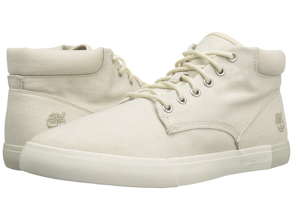 Timberland Newport Bay 2.0 Canvas Chukka (White Canvas) Men