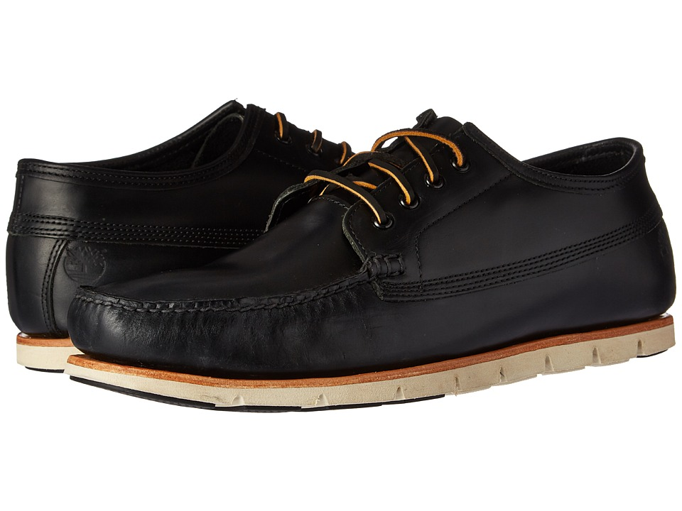 Timberland Tidelands Ranger Moc (Black Full Grain) Men