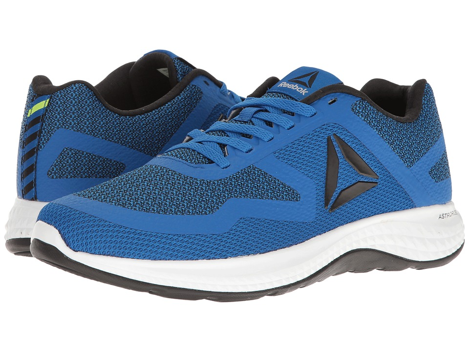 Reebok - Astroride 2D (Awesome Blue/Black/White) Men's Running Shoes