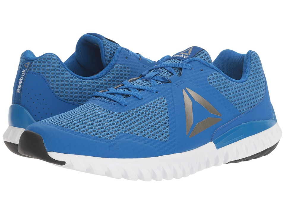 Reebok - Twistform Blaze 3.0 MTM (Awesome Blue/Brave Blue/White/Black/Pewter) Men's Running Shoes