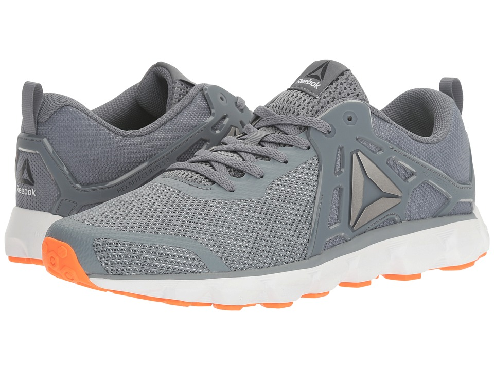 Reebok - Hexaffect Run 5.0 MTM (Asteroid Dust/Wild Orange/Pewter/Black/White) Men's Running Shoes