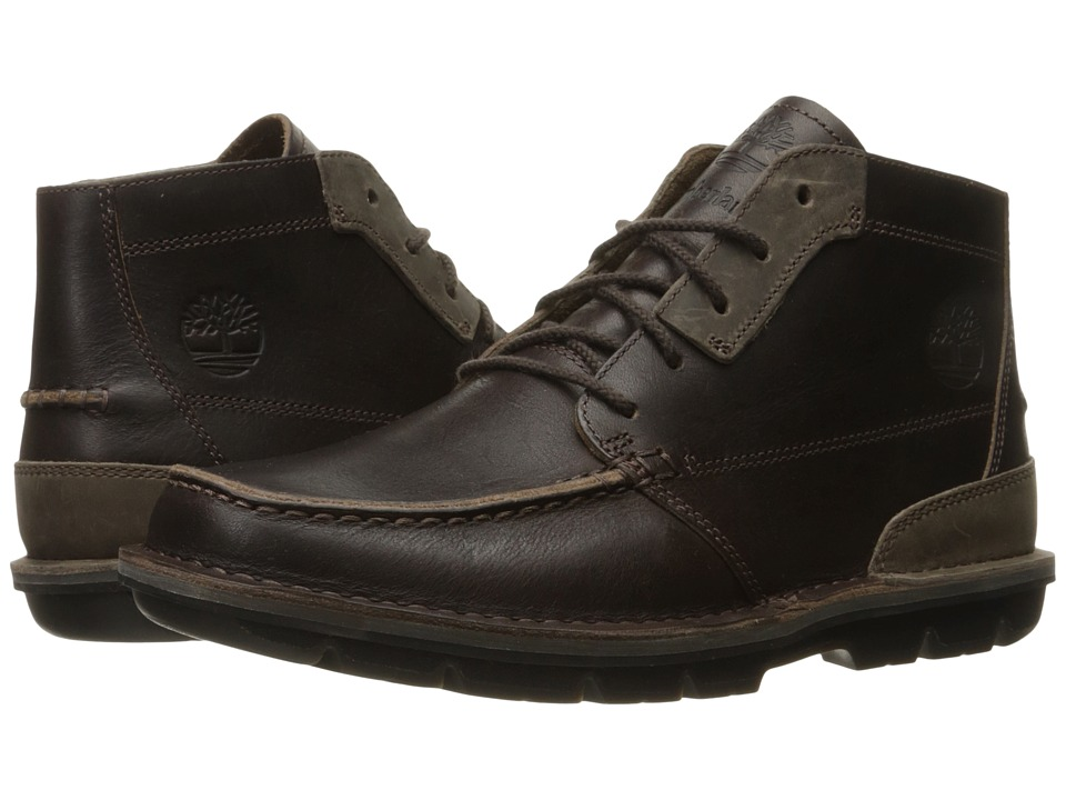 Timberland - Coltin Mid (Dark Brown Full Grain) Men's Lace-up Boots