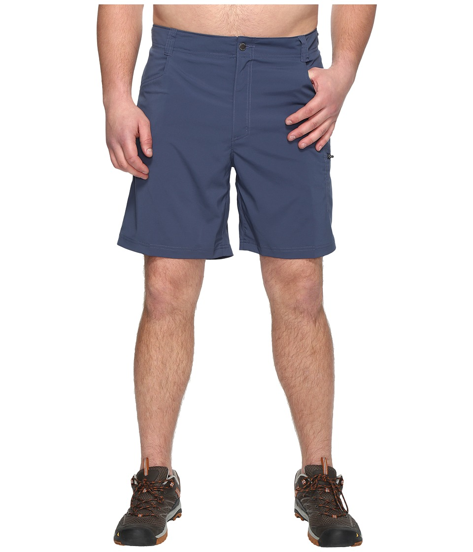 Columbia - Big Tall Silver Ridge Stretch Shorts (Zinc) Men's Shorts
