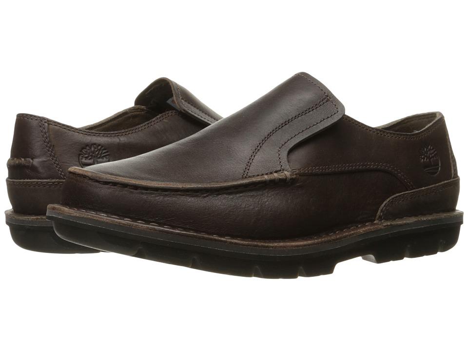 Timberland - Coltin Slip-On (Dark Brown Full Grain) Men's Shoes