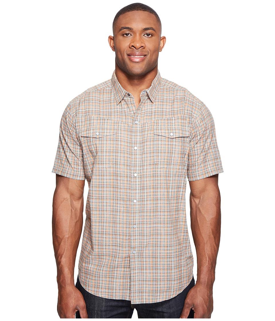 Columbia - Big Tall Leadville Ridge Short Sleeve Shirt (Valencia Plaid) Men's Short Sleeve Button Up