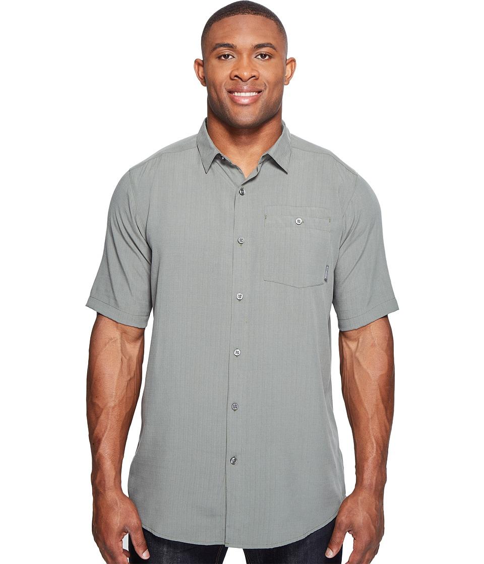 Columbia - Big Tall Mossy Trail Short Sleeve Shirt (Cypress) Men's Short Sleeve Button Up