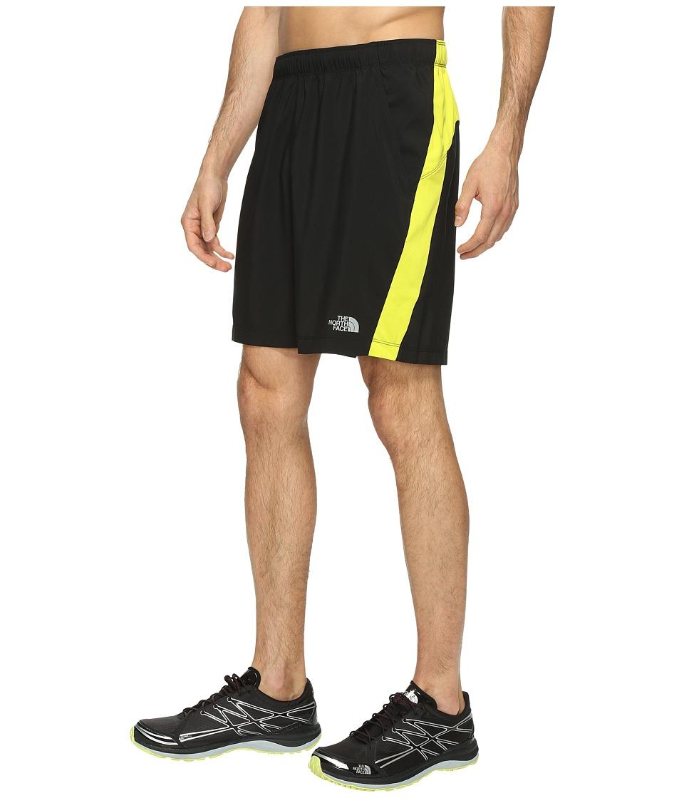 The North Face - Reactor Shorts (TNF Black/Sulphur Spring Green (Prior Season)) Men's Shorts