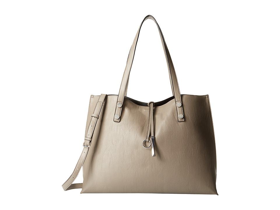 Calvin Klein - Reversibles Pebble Tote (Grey/Black) Tote Handbags
