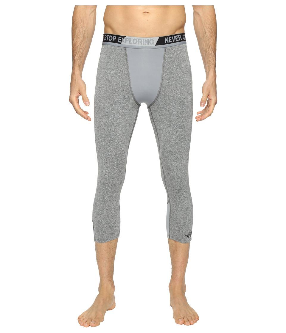 The North Face - Training Tights 3/4 (TNF Medium Grey Heather (Prior Season)) Men's Clothing