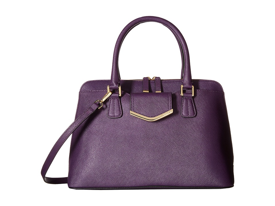 Calvin Klein - On My Corner H3GD11RP (Acai) Satchel Handbags
