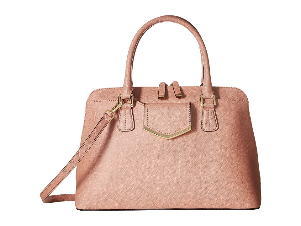 Calvin Klein - On My Corner H3GD11RP (Deep Blush) Satchel Handbags