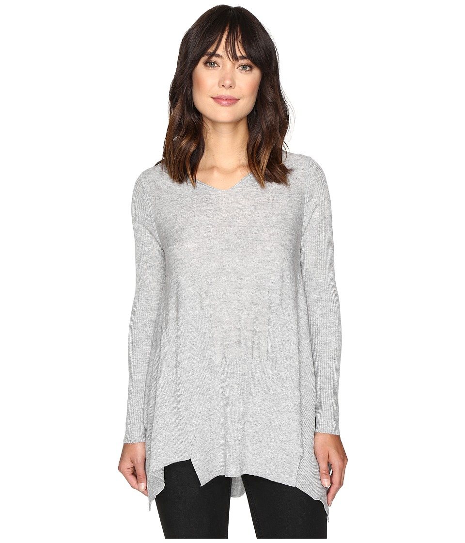 Brigitte Bailey - Penny Long Sleeve Sweater (Heather Grey) Women's Sweater