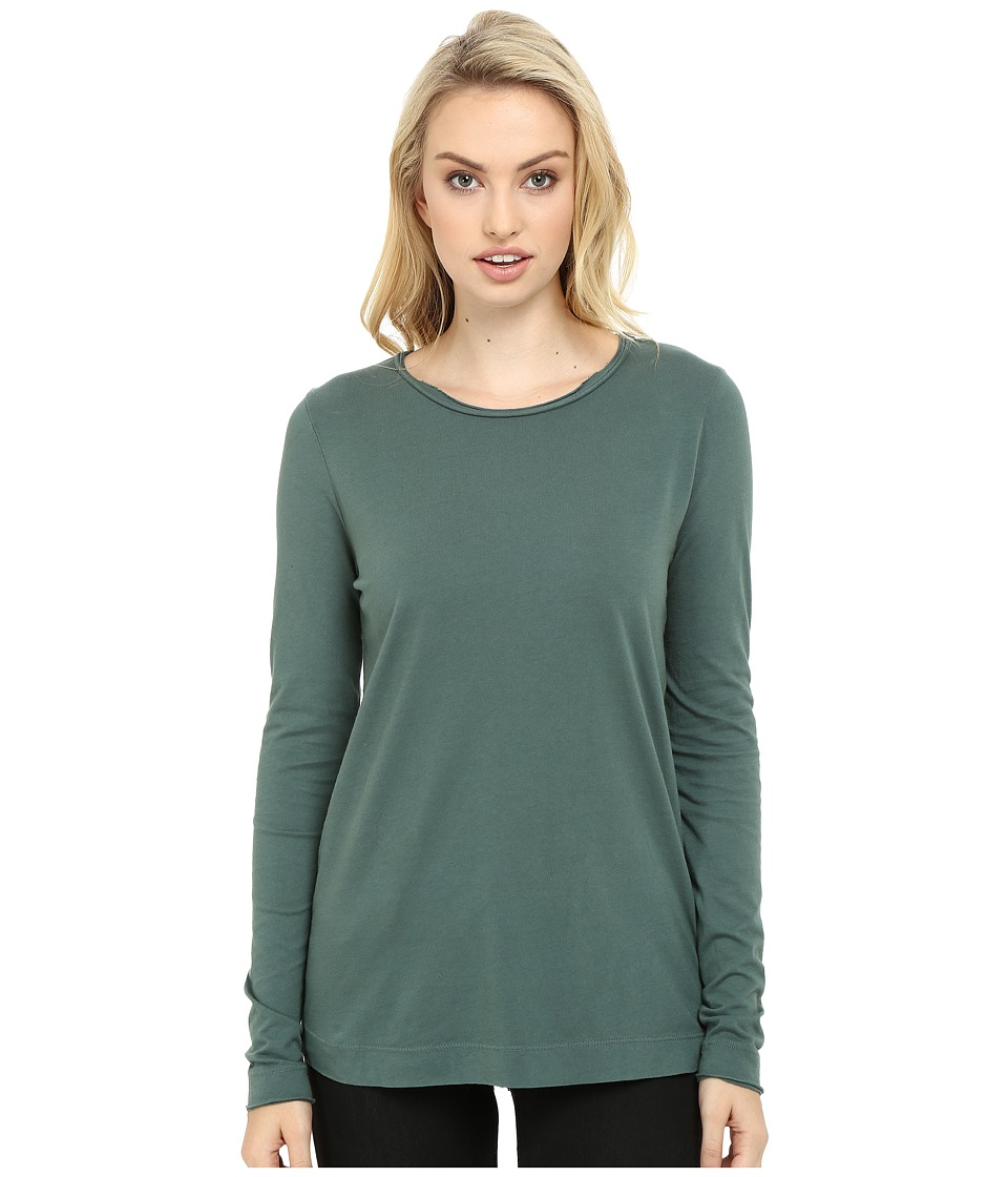 Three Dots - Kale - Long Sleeve Top (Forage) Women's Clothing