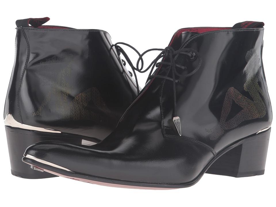 Jeffery-West - Trucker Chukka (Black) Men's Shoes
