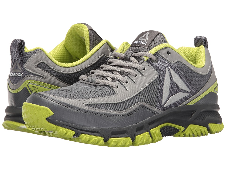 Reebok - Ridgerider Trail 2.0 (Alloy/Flat Grey/Kiwi Green/Pewter) Men's Walking Shoes