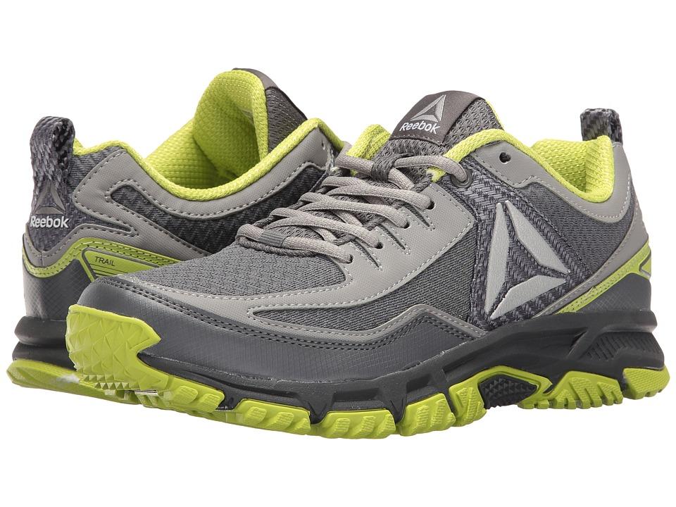 Reebok - Ridgerider Trail 2.0 (Alloy/Flat Grey/Kiwi Green/Pewter) Men's Walking Shoes