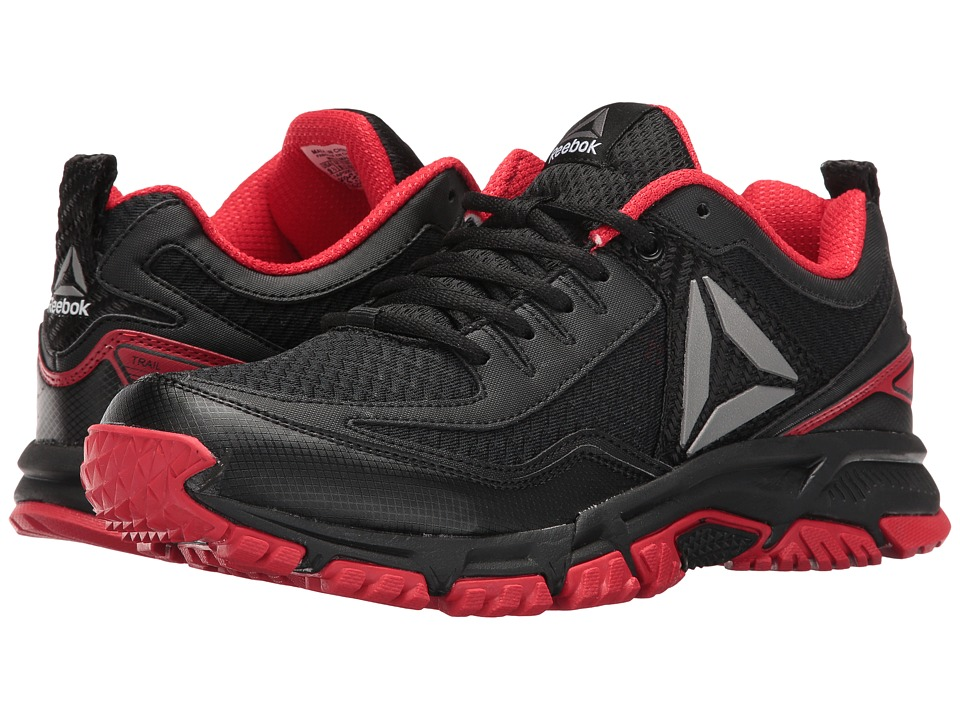 Reebok - Ridgerider Trail 2.0 (Black/Primal Red/Silver) Men's Walking Shoes