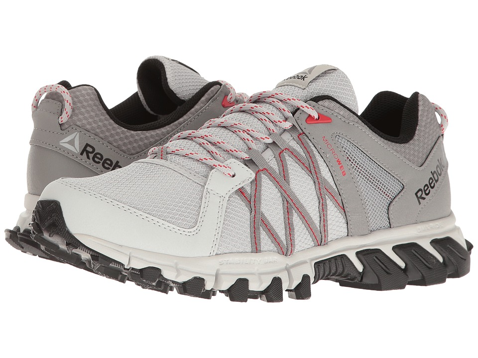 Reebok - Trailgrip RS 5.0 (Skull Grey/Charcoal Solid Grey/Primal Red/Black) Men's Shoes