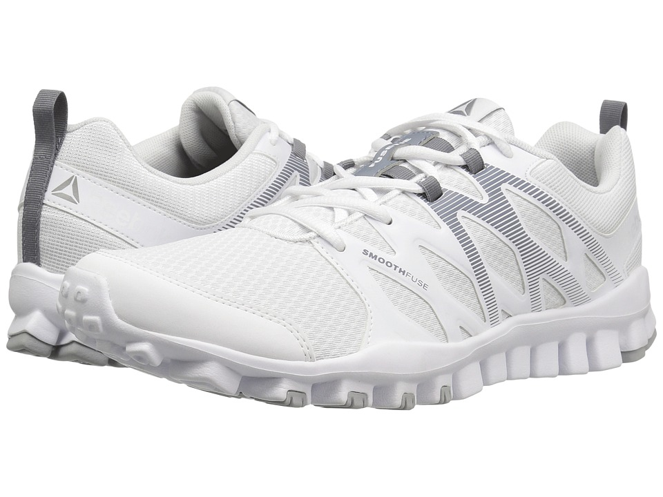 Reebok - RealFlex Train 4.0 (White/Asteroid Dust/Pewter) Men's Cross Training Shoes