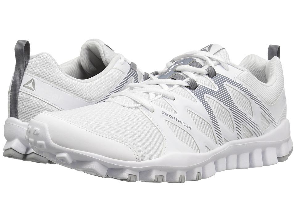 Reebok - RealFlex Train 4.0 (White/Asteroid Dust/Pewter) Men's Cross Training Shoes