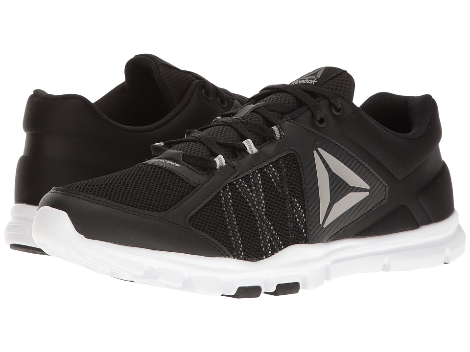 Reebok - Yourflex Train 9.0 MT (Black/Skull Grey/White/Pewter/Grey) Men's Cross Training Shoes