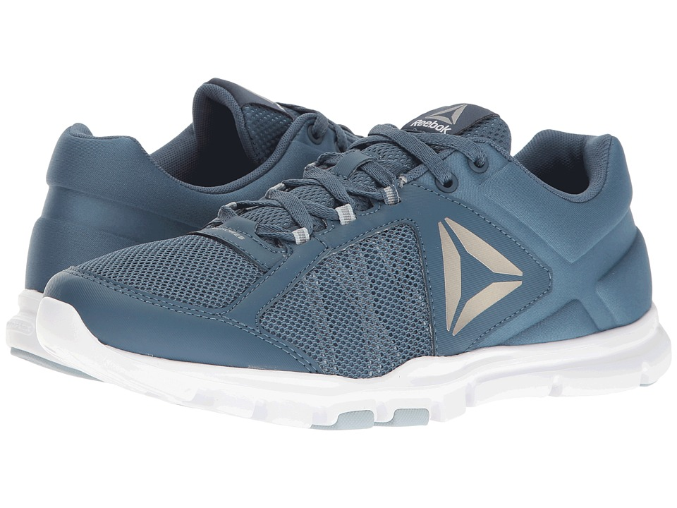 Reebok - Yourflex Train 9.0 MT (Brave Blue/Gable Grey/White/Pewter/Black/Grey) Men's Cross Training Shoes