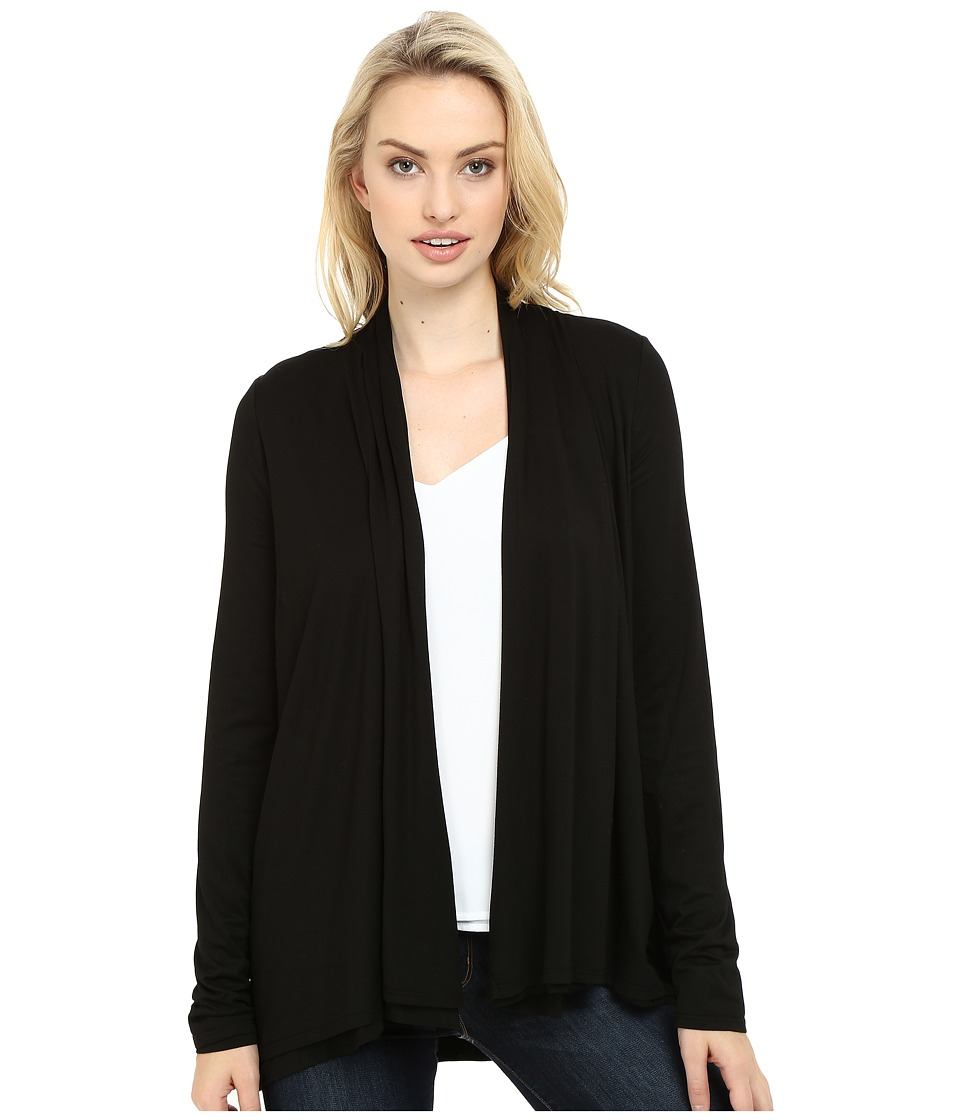 Three Dots - Fran - Cardigan (Black) Women's Sweater
