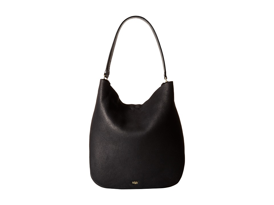 UGG - Claire Hobo (Black Bomber) Hobo Handbags