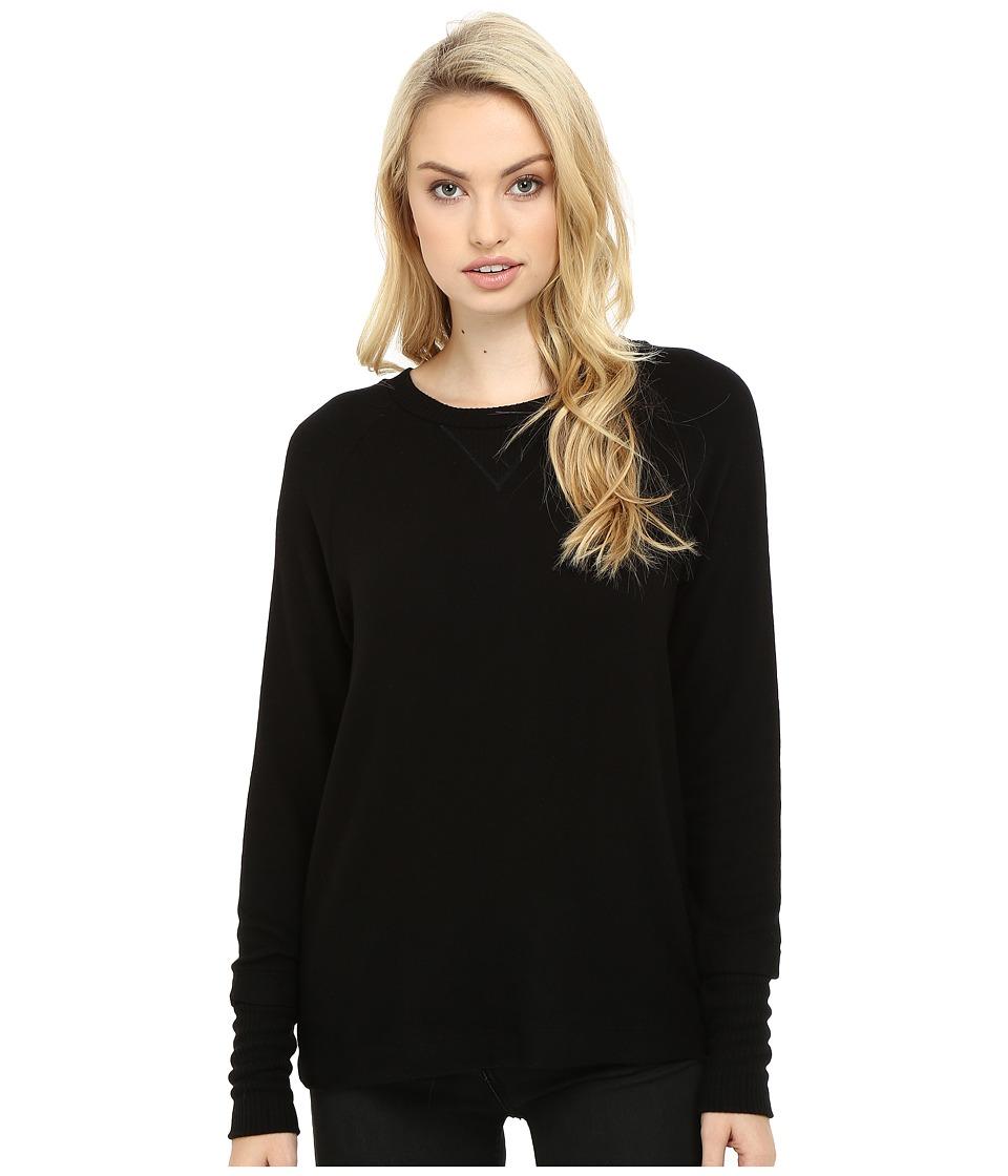 Three Dots - Shala - Brushed Sweater (Black) Women's Sweater