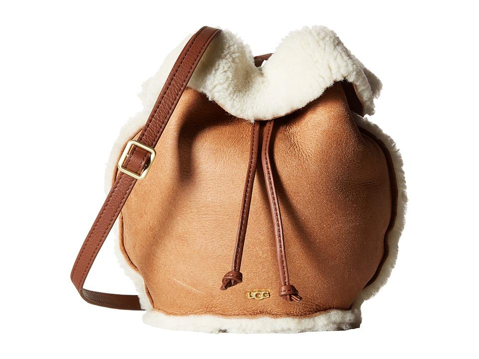 UGG - Claire Drawstring (Chestnut Bomber) Drawstring Handbags