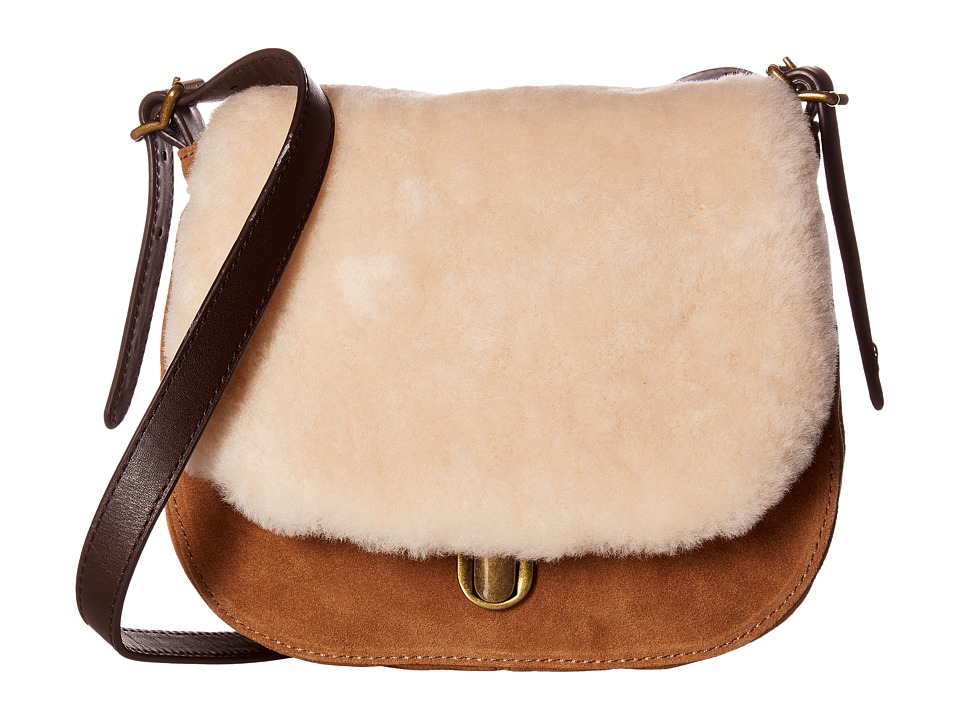 UGG - Heritage Crossbody (Chestnut) Cross Body Handbags