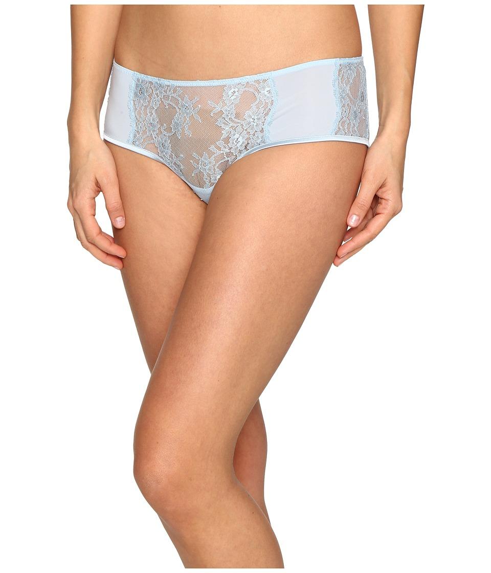 La Perla - Airy Blooms Boyshorts (Light Blue) Women's Underwear