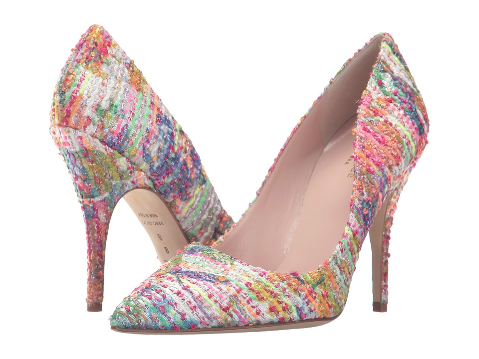 Kate Spade New York - Licorice (Multi Floral Tweed) High Heels