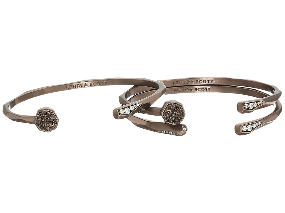 Kendra Scott - Blake Bracelet (Chocolate/Chocolate Drusy Cubic Zirconia) Bracelet