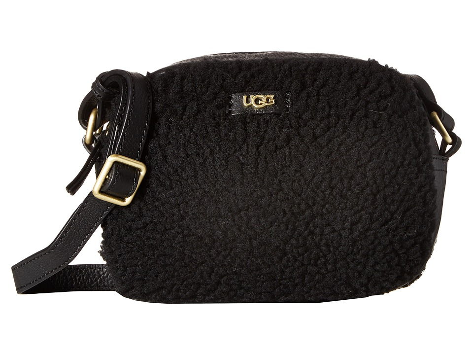 UGG - Claire Box Zip (Black) Handbags