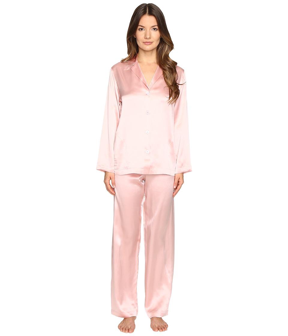La Perla - Silk Pajama (Tulip Pink) Women's Pajama Sets