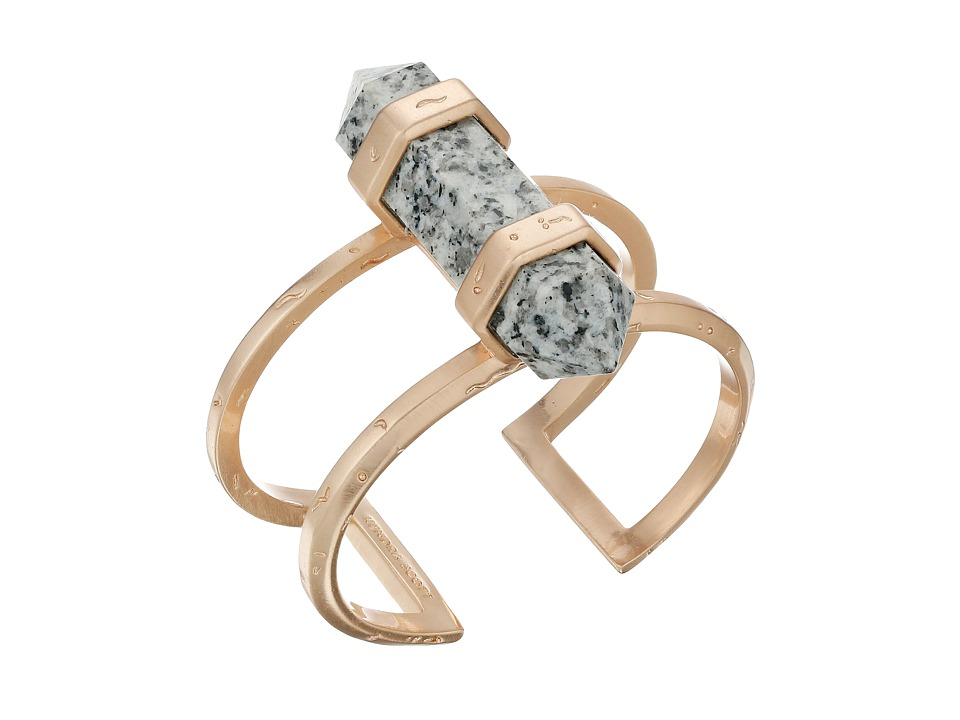 Kendra Scott - Shelli Bracelet (Rose Gold/Gray Granite) Bracelet